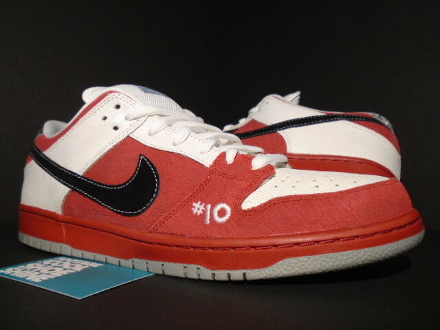 2011 NIKE DUNK LOW PREMIUM SB ROLLER DERBY RED BLACK WHITE GREY 313170-601 12
