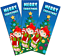 Elf-Christmas-Gift-Box-Filler-Pack-Includes-Letters-to-amp-from-Santa-Xmas-6-Items thumbnail 4