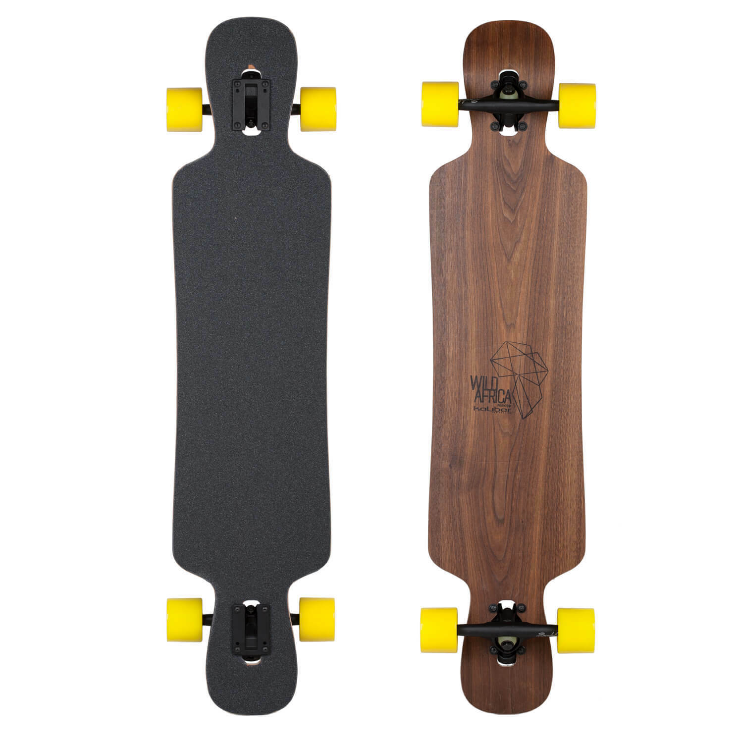 Caliber Complete Longboard Lion Flex Medium 42 x 9.5 Drop-Through Board