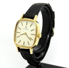 Ladies Vintage MOVADO ZENITH Rare Swiss 18k Gold Watch 750 MZ