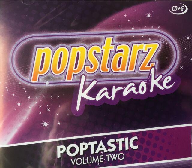 popstarz CD M Bild Karaoke Poptastic Volume Zwei Neueste Hits CD-G