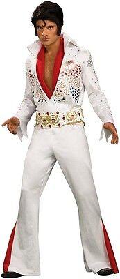 Deluxe ELVIS Presley Grand Heritage Jumpsuit Costume Mens Adult