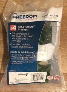 (SET OF 2) Freedom Outdoor Living Set & Secure Bracket ... on Outdoor Living Set id=49805