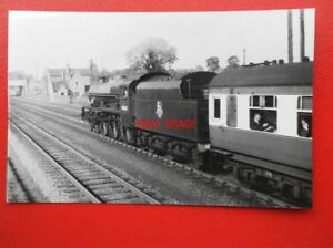 PHOTO  LMS JUBILEE 460 LOCO NO 45683 HOGUE NR RUGBY 1956 - Tadley, United Kingdom - PHOTO  LMS JUBILEE 460 LOCO NO 45683 HOGUE NR RUGBY 1956 - Tadley, United Kingdom