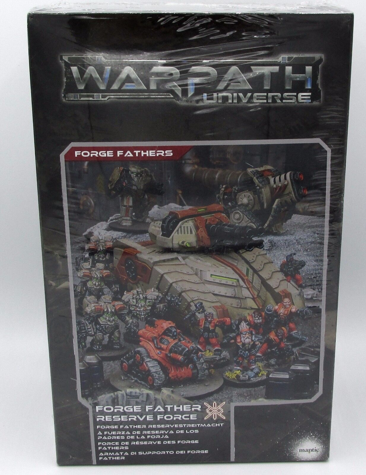Warpath MGWPF102 Forge Father Reserve Force Space Dwarves Infantry & Vehicles