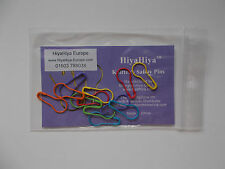 HiyaHiya knitters safety pins, round safety pins,12pcs, bright colours