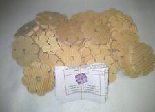 50 x Knüpfblumen zum knüpfen von Schnüren wie Knüpfstern Händlerangebot /Schulen