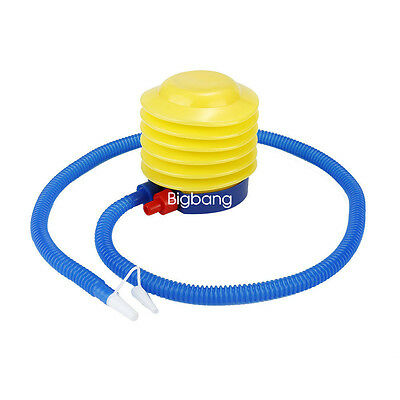 Plastic Inflatable Foot Air Pump Inflator For Swimming Ring Balloon Yoga Ball BG