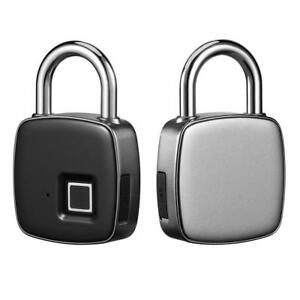 Smart Keyless Fingerprint Lock Ip66 Waterproof Electronic Anti-theft Security Padlock Door Motorcycle Luggage Case Lock High Quality Burglar Alarm Alarm Systems & Security Clever P3