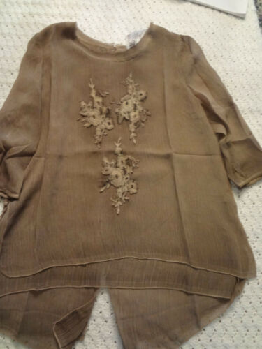 pretty angel top beautiful voile top s m l,