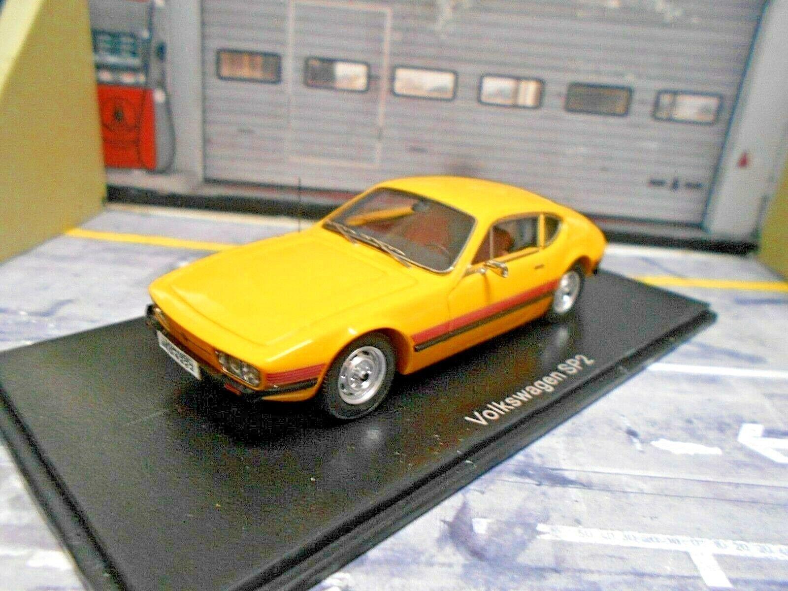 VW Volkswagen Brazil sp2 sp 2 Coupé jaune jaune 1974 NEO Resin 1 43