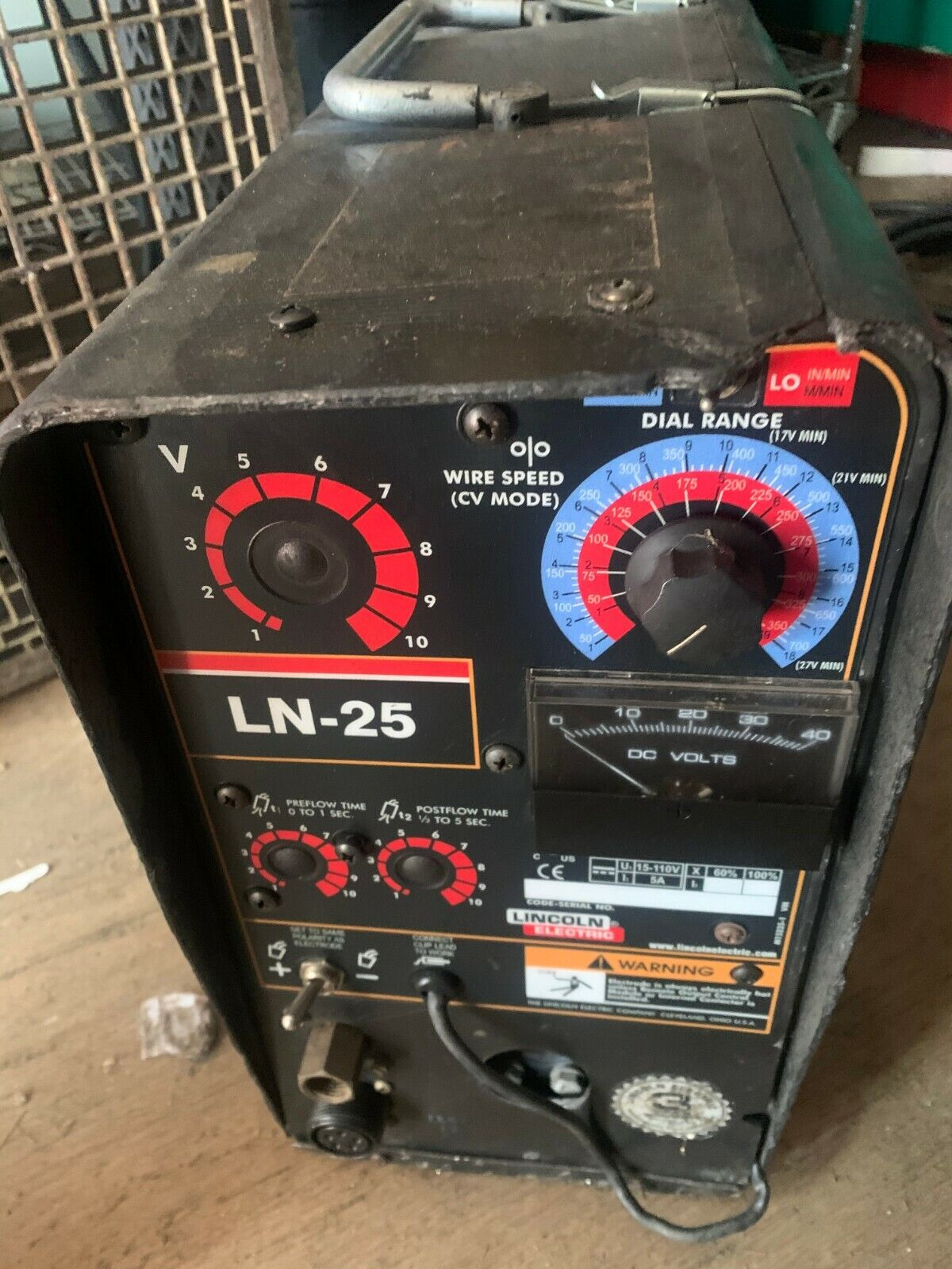 Used Lincoln Electric welder LN-25  wire feeder.