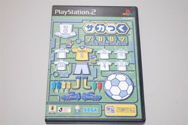 Let's Make J. League 2002 Pro Soccer Club Japan Sony Playstation 2 PS2 game