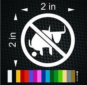 3M Graphics NO POOP ZONE Sign Vinyl Hard Hat Car Truck Helmet Decal Sticker