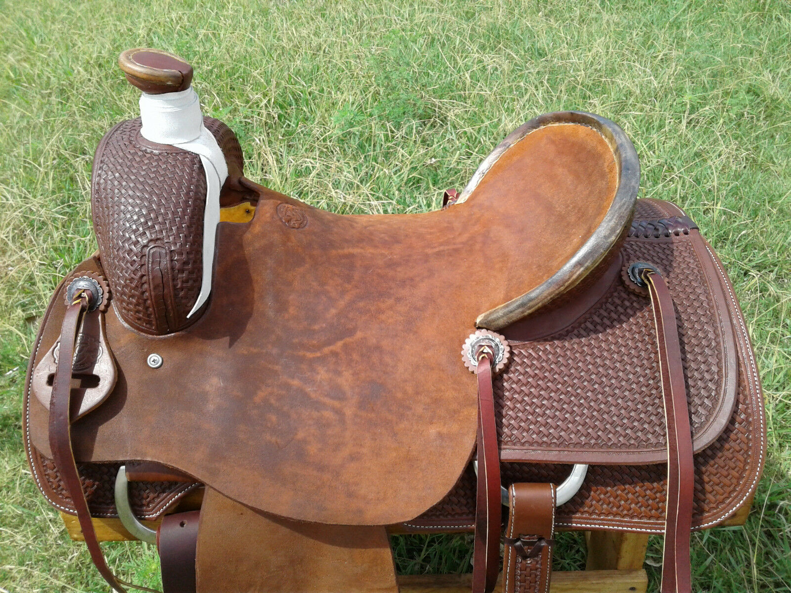 17  Spur Saddlery Ranch Roping Saddle (Roper) Made in Texas