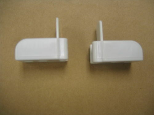 Brown Color Only-No White Pair Baby Crib Hardware-Upper Guides