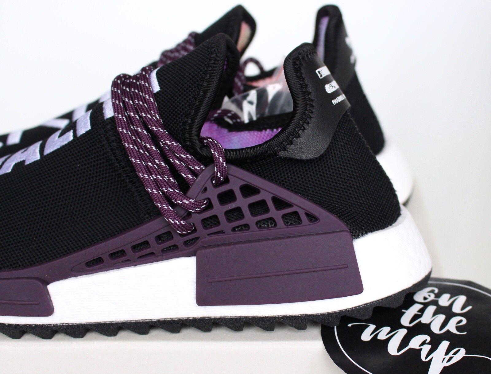 size 40 5fb16 6d972 Adidas Pharrell Human Race HU Holi NMD Trail Black Purple UK 5 7 8 9 11 US  New