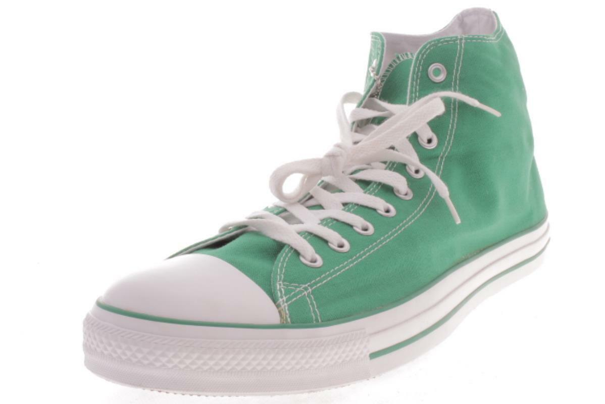 Mens Large Size  Converse  All Star Chuck Taylor AJ791 Green Athletic shoes 17