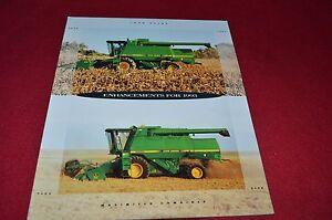 John Deere 9400 9500 9600 Combine Dealer/'s Brochure DCPA 89-11