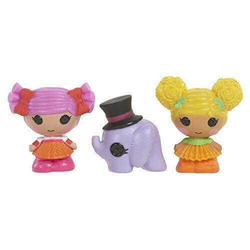 MGA Entertainment SERIE 1+2 Lalaloopsy Tinies Multi Colore 3 Doll Collection