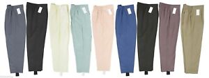 Womens-New-Back-Elastic-Trouser-With-Stirrups-Ladies-Ski-Pants-All-Colours