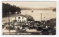 SUNAPEE HARBOR, LAKE SUNAPEE: New Hampshire USA postcard (C21453)