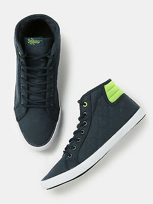 Roadster Men Quilted Mid-Top Sneakers - G9O