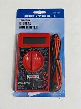 Cen Tech Digital Multimeter 7 Function Multi Tester Item 98025