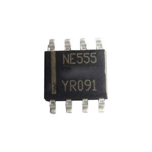 NE555-LM555-Prazisions-Timer-Gehause-SOP8-SMD-TI-Integrierter-Schaltung-SOP-8