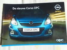 Opel Corsa OPC range brochure Apr 2007 Dutch text