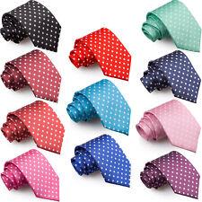 Men's Tie Woven Polka Dot Fashion Party Novelty Business Standard Necktie