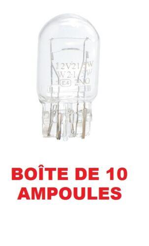 10 AMPOULES W3x16q 12V 21//5W HONDA CIVIC VII Hatchback EU, EP, EV