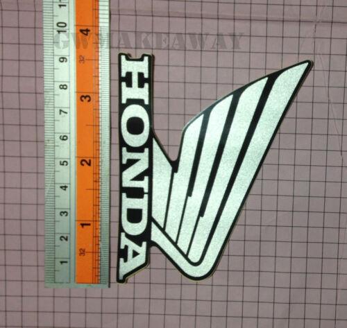 Honda Logo Sticker Mark Wing Decals Cbr 125 150 250 300 600 900 1000 Cb NSR B//S