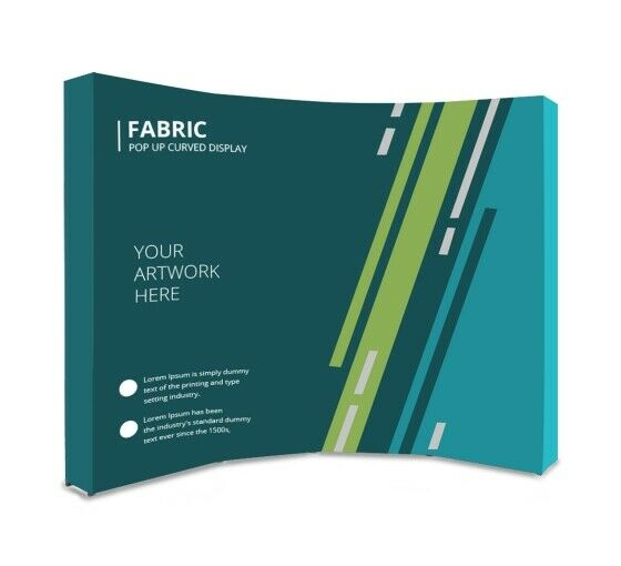 10ft Tension Fabric Trade Show Display