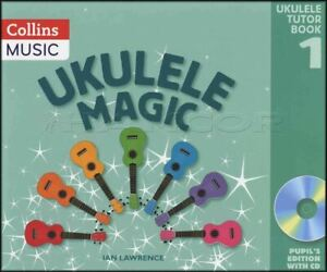 Ukulele-Magic-Tutor-Book-1-Pupil-039-s-Edition-Book-CD-Learn-How-To-Play-Method