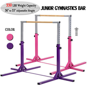 Adjustable-Gymnastics-Bar-Horizontal-Training-Bar-Junior-Home-Kip-Gym-Equipment