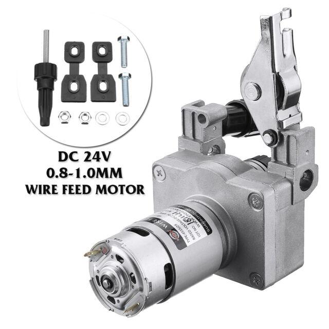 DC 24V 0.8-1.0mm MIG Welder Welding Machine Wire Drive Motor Feed Feeder Roller