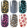 Hot Sale Leopard Nail Art Decal Wraps Stickers Adhesive Polish Foils Decoration