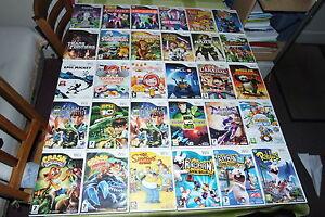 Wii-enfants-jeux-Nintendo-Wii-U-compatible-Crash-Cooking-Mama-Disney-BEN-10-Rayman