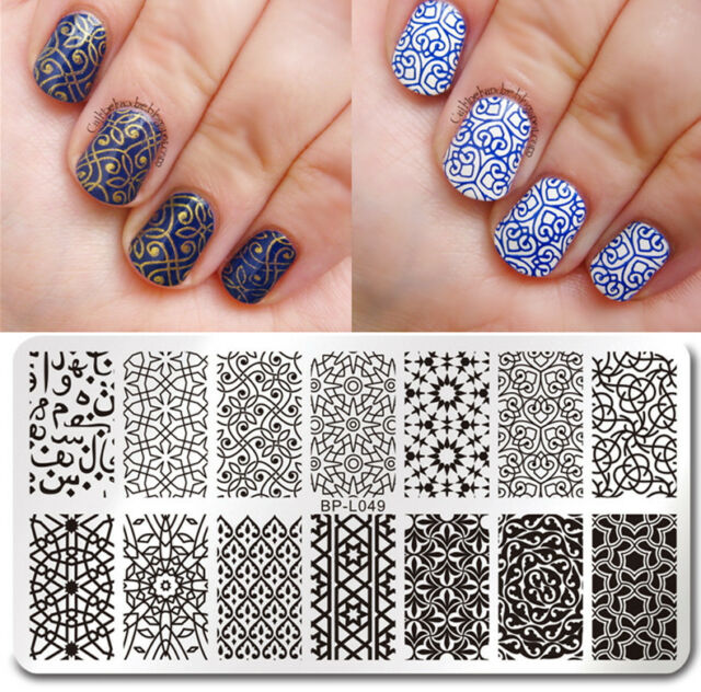 BORN PRETTY Nail Art Stamp Plate  Image Template Vines Style BP-L049