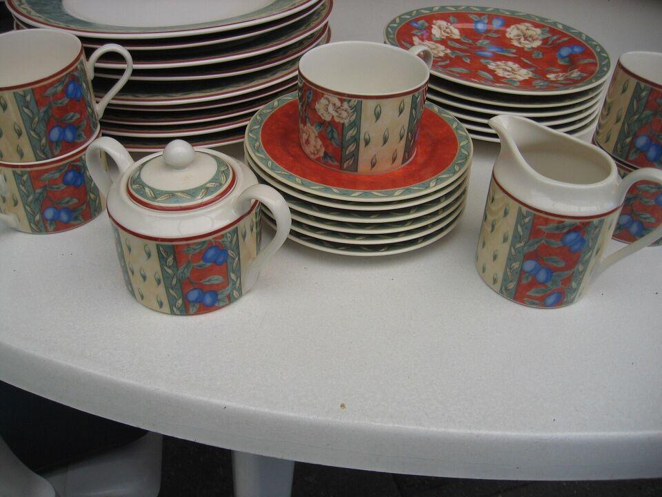 Porcelæn, Kaffestel m.m., Provence