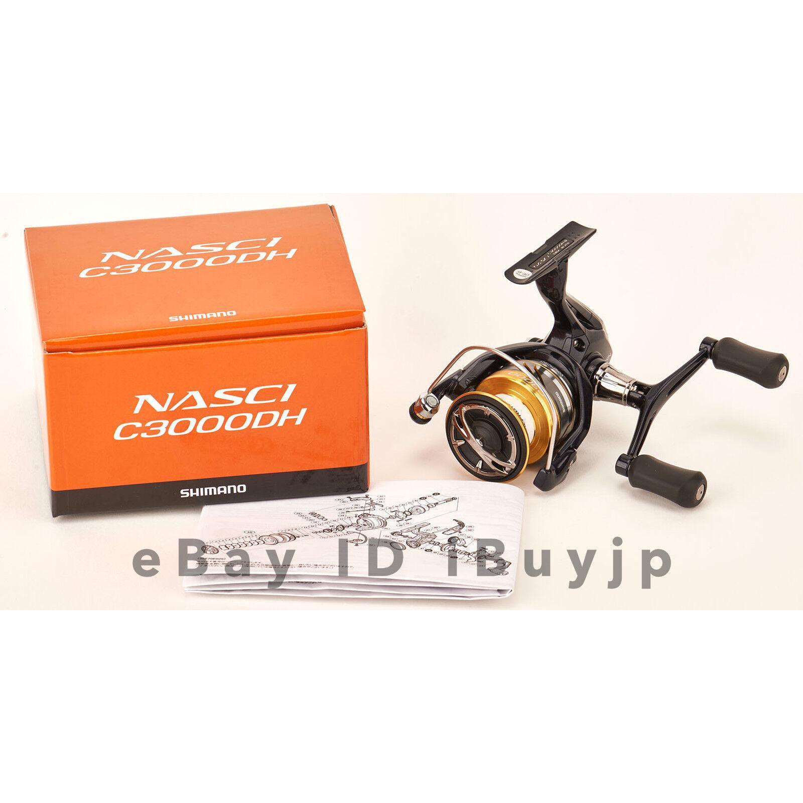 Shimano 16 NASCI C3000DH Saltwater Spinning Reel 036346