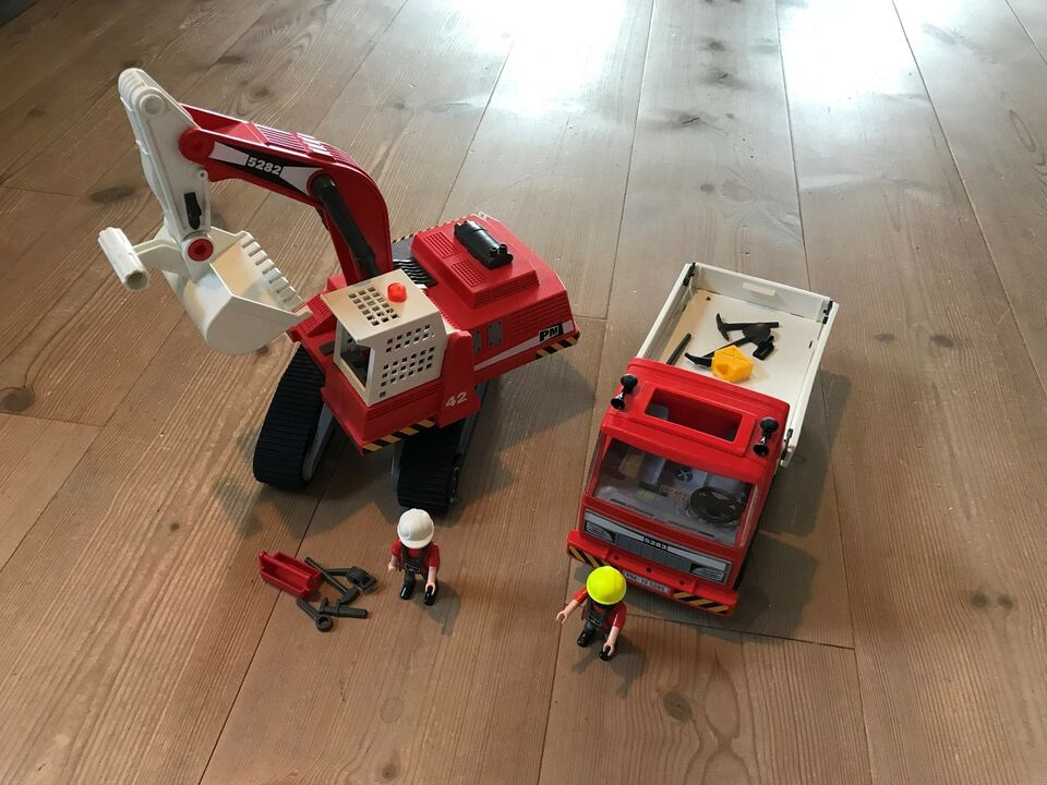 Playmobil, Brand og arbejds playmobil, Playmobil