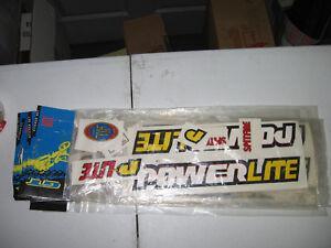 Old school White GT Ame bmx grips Dyno Robinson Haro Powerlite NOS
