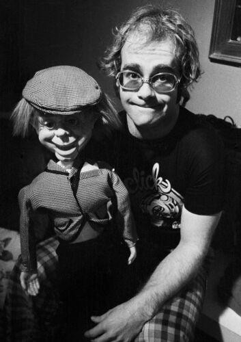 Sir Elton John 9 English Singer Black and White Musician Poster Pop Star Famous