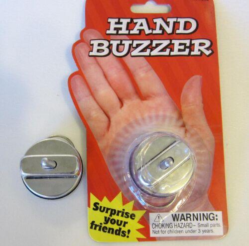 20 NEW METAL HAND BUZZERS NOISE MAKER HAND SHAKE JOY RING JOKE GAG PRANK