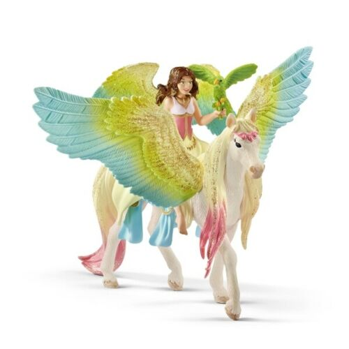 Schleich Surah mit Glitzer-Pegasus Neu