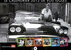 Ponctuel Le Calendrier 2012 De Vos Idoles Aussi Efficacement Qu'Une FéE