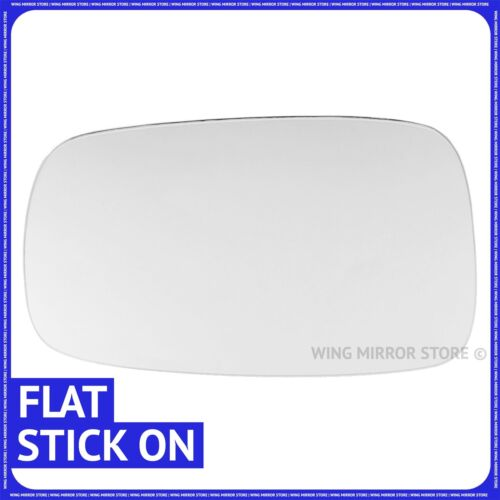 Main gauche côté passager pour renault grand scenic 2003-08 flat wing mirror glass