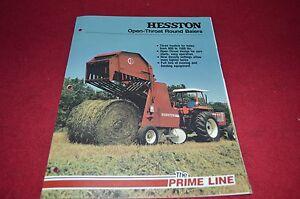 Hesston 5510 Round Baler Parts